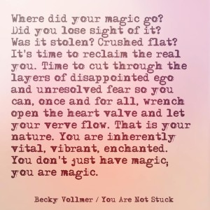 where did your magic go