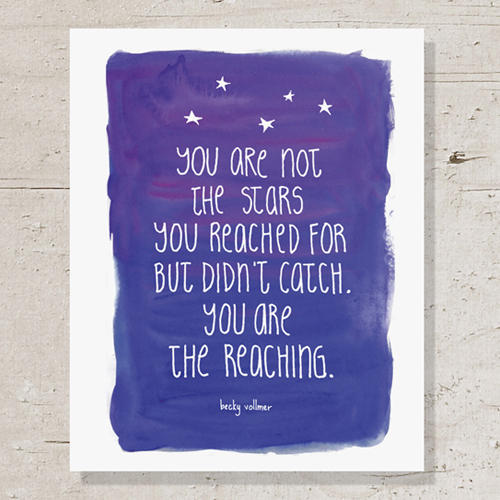 you are the reaching
